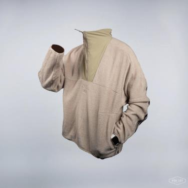 Áo Khoác Adidas Must Haves Fleece Half Zip-up Top Winter Begie 2021** [GE0356]