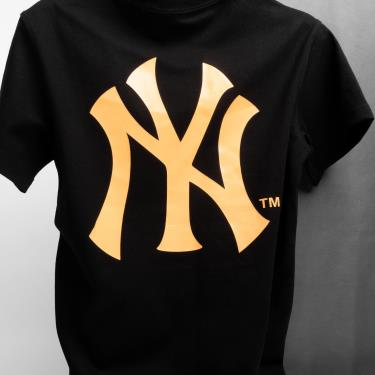 Hàng Chính Hãng Áo Thun New Era Black/ OrangeLogo New York Yankee SS 2020**