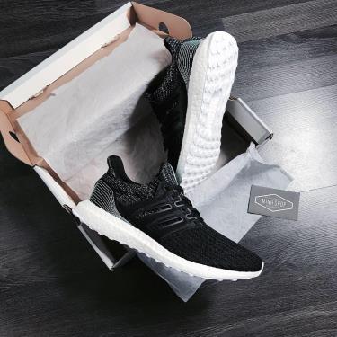 Hàng Chính Hãng Adidas Ultra Boost 4.0 Parley Core Black 2020**