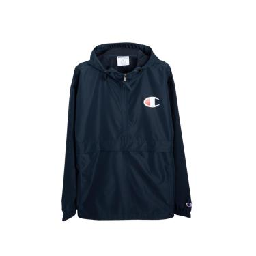 Hàng Chính Hãng Áo Khoác Champion Packable Jacket Navy / C LOGO 2020**