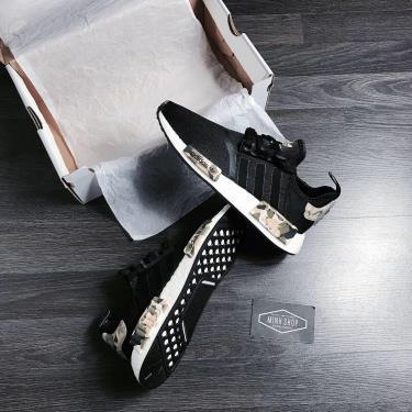 Hàng Chính Hãng Adidas NMD R1  Black/Camo/White 2020**