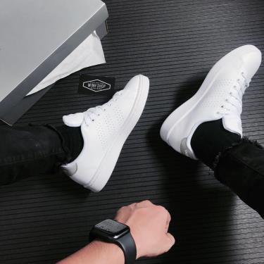 -500 TODAY Hàng Chính Hãng Adidas Advantage White/Grey 2021**