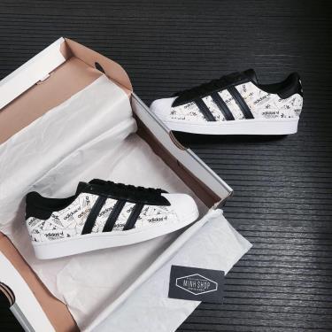 -850 K Hàng Chính Hãng Adidas Superstar White/Black Reflective 2021**