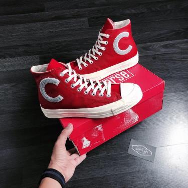 Hàng Chính Hãng Converse Chuck Taylor All Star 70 Vintage Canvas Red 2020**