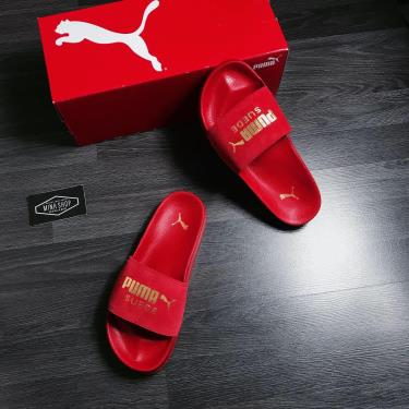 FLASH EVENT 70% OFF Today Dép Puma Suede Leadcat Sandals Red  YYY2020**