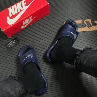 Hàng Chính Hãng Dép Nike Victori One Navy 2021**
