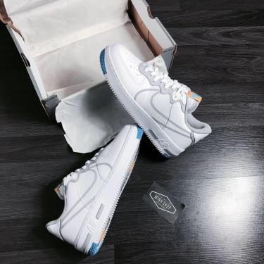 Hàng Chính Hãng Nike Air Force 1 React Light Smoke Grey 2020** V