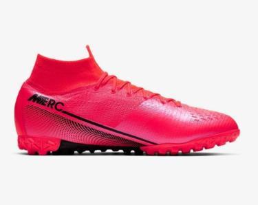 Hàng Chính Hãng Nike Mercurial Superfly VII Elite TF Laser Crimson  Soccer 2020**
