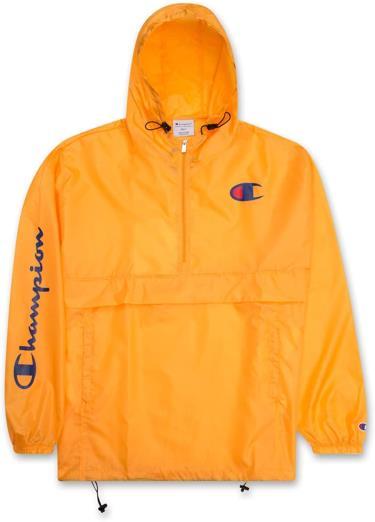 Hàng Chính Hãng Áo Khoác Champion Packable Jacket Yellow / C LOGO 2020**