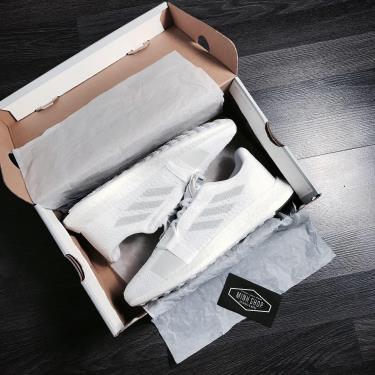 Hàng Chính Hãng Adidas Senseboost Go 'Cloud White'  2020**