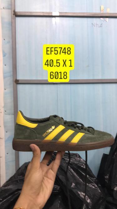 Hàng Chính Hãng Adidas SL80 Spzl  Green/Yellow/2020**