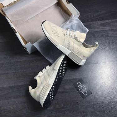 OFF 50% Hàng Chính Hãng Adidas NMD R1 Primeknit Chalk White 2020**