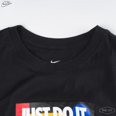 """Hàng Chính Hãng Áo Thun Nike """"Just Do It"""" Black /Mutilcolor 2020**"""