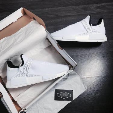 Hàng Chính Hãng Adidas Human x Pharrell William White 2020**