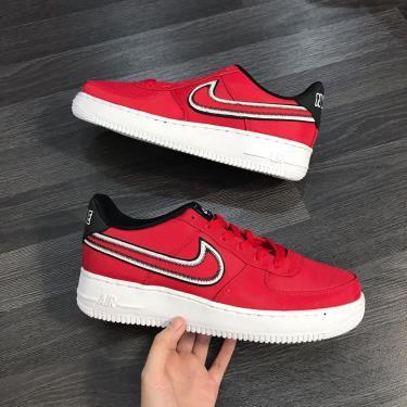Hàng Chính Hãng Nike Air Force 1 Red/Black  2019**