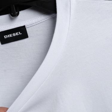 Hàng Chính Hãng Áo Thun Diesel Black/White V1 **2021**