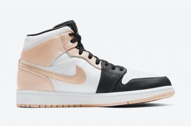 "-1XXX 💥 Giày Nike Air Jordan 1 Mid ""Crimson Tint"" ** [554724 133]"