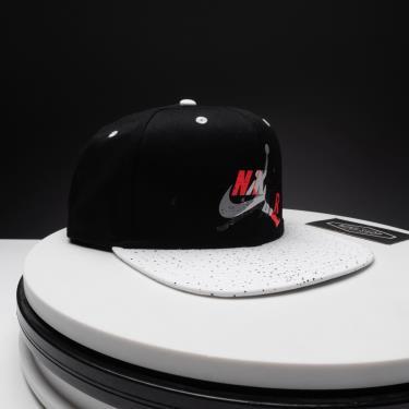 Hàng Chính Hãng Nón Nike Air Jordan Snapback Black/White 2021**