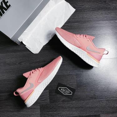 Hàng Chính Hãng Nike Odyssey React Flyknit 2 Light Orange/ White 2020**