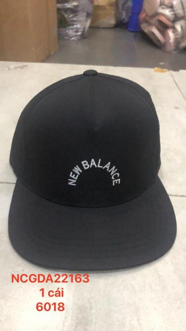 Hàng Chính Hãng Nón Snapback NewBalance Black 2020**
