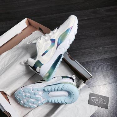 Nike Air Max 270 React Bubble Pack White V **  [CT9633 100]