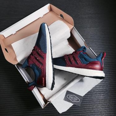 Hàng Chính Hãng Adidas Ultra Boost DNA CTY Malina Navy/Burgundy 2021**