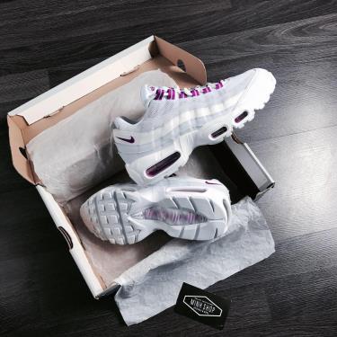 Hàng Chính Hãng Nike  Air Max 95 'Grey Hyper Violet' 2020**
