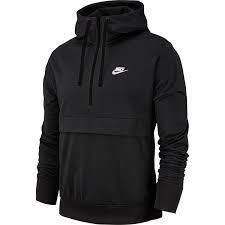 Hàng Chính Hãng Áo Khoác Nike Air Jacket Half-Zip Triple Black 2020**