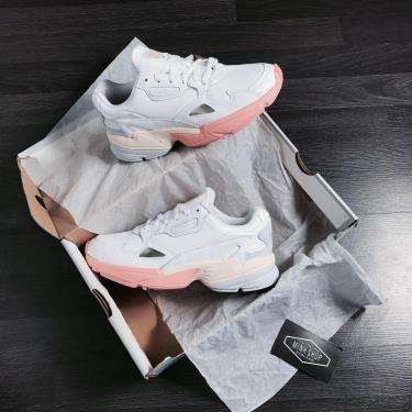 ''FLASH DEAL '' Hàng Chính Hãng Adidas Falcon White/ Blue /Pink **2020**