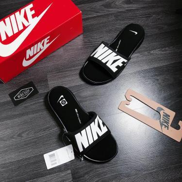 Hàng Chính Hãng Dép Nike Ultra Comfort 3 Black/White 2020**