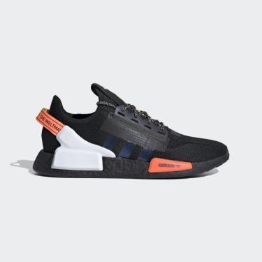 Hàng Chính Hãng AdidasNMD R1 V2 Core Black/Signal Coral  2021**