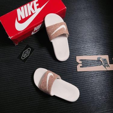 Hàng Chính Hãng Dép Nike Kawa Light Brown 2021**