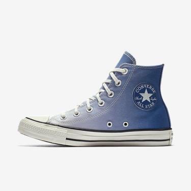 Hàng Chính Hãng Converse Chuck Taylor All Star Ombre Wash High Top Blue 2020* xx