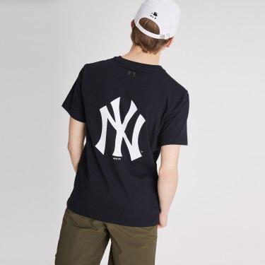 Hàng Chính Hãng Áo Thun MLB NY Big Logo Black/White V2 **2021**