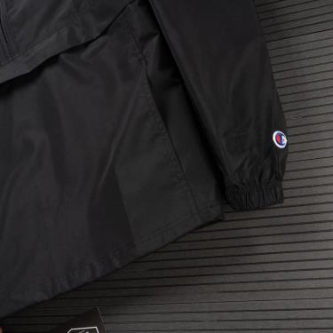 Hàng Chính Hãng Áo Khoác Champion Packable Jacket Pop Color Logo Black/Grey White 2020**