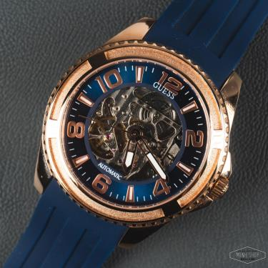 Hàng Chính Hãng  Guess Analog Blue Dial Men's Watch 2020**