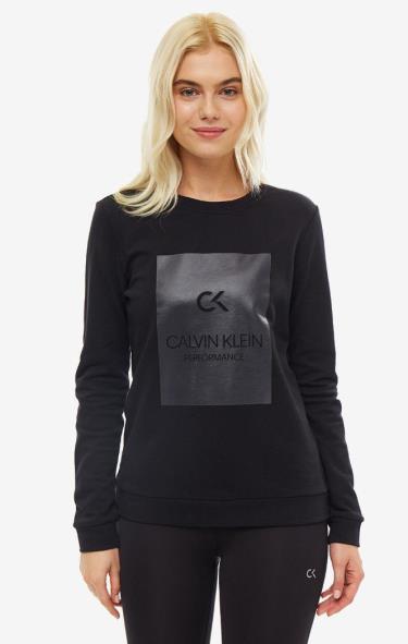 Hàng Chính Hãng Áo Sweatshirt Calvin Klein Performance Black 2020**