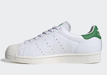 50% Giày Adidas Superstar Cloud White Green **