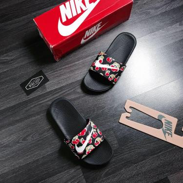 Hàng Chính Hãng Dép Nike Kawa Slide Black/White Cherry 2020**