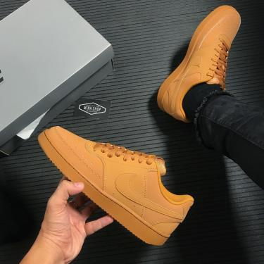 #GIẢM MAY MẮN Nike Court Vision Low Flax Wheat [CD5463 200]
