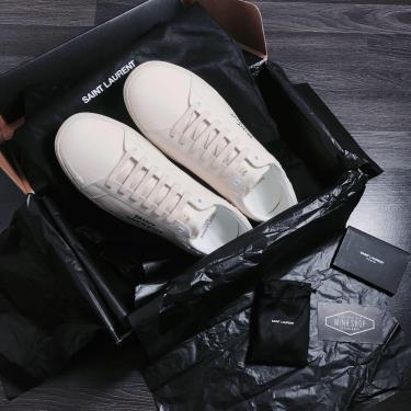 Hàng Chính Hãng Saint Laurent Court Classic SL-06 'Cream' 2021** V