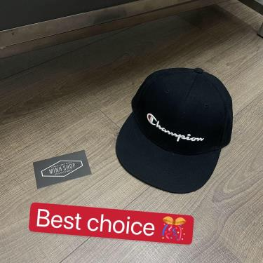 non-snapback-champion-black-logo-apdung-ck