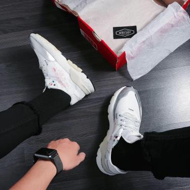 Hàng Chính Hãng Adidas Nite Jogger White/Grey **2020**