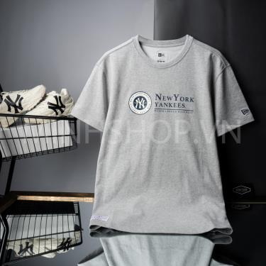 Hàng Chính Hãng Áo Thun New Era x MLB New York Yankees University  Grey 2020**