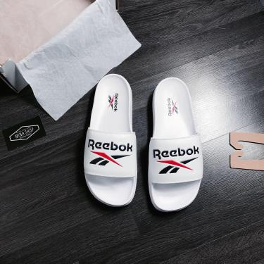 Hàng Chính Hãng Dép Reebok Classic Slide White/Blue/ Red 2020**