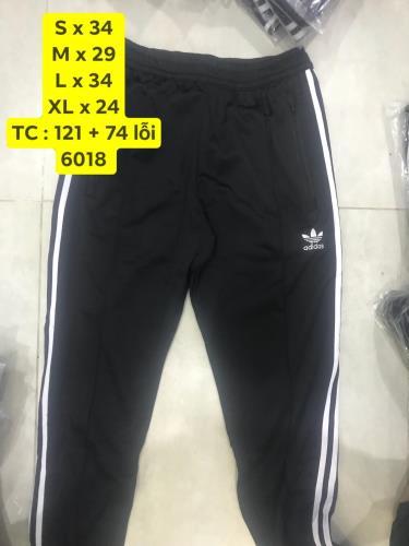 Hàng Chính Hãng Quần Adidas BB Trackpants   Black White 2019**