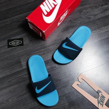 Hàng Chính Hãng Dép Nike Kawa Slide Midnight Navy / Blue 2020**