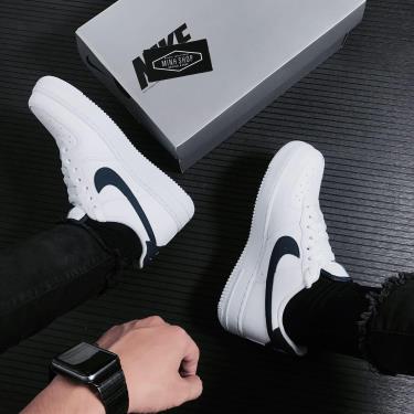 Hàng Chính Hãng Nike Air Force 1 '07 Low White Midnight Navy 2021**