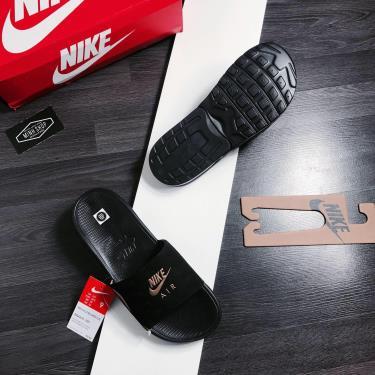 Hàng Chính Hãng Dép Nike Air Max Camden Black Metallic Gold 2020**