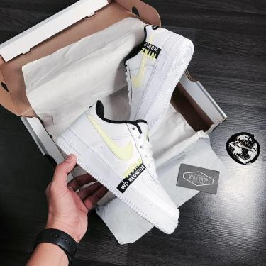 """Hàng Chính Hãng Nike Air Force 1 Low """"Worldwide"""" - White/Neon  2020**"""